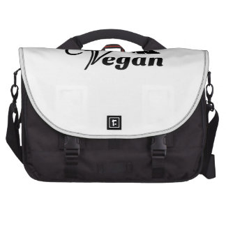 Vegan Symbol Commuter Bag