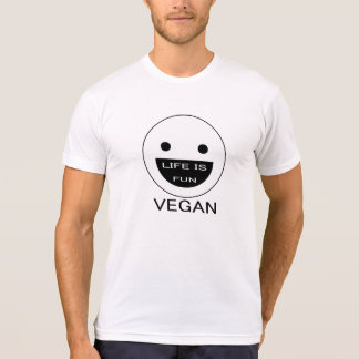 Vegan tee - Life is fun