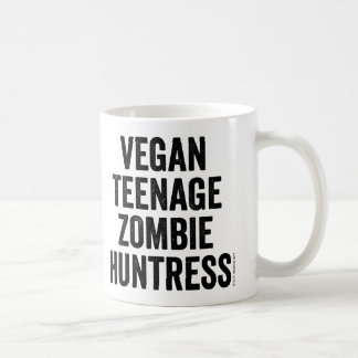 Vegan Teenage Zombie Huntress mug