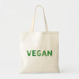 Vegan Text Art - Happy Quote Tote Bag