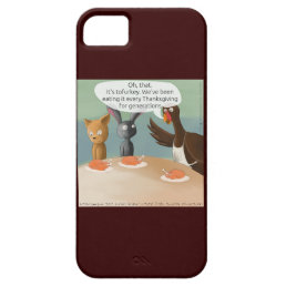 Vegan Thanksgiving Funny iPhone 5/5s Case