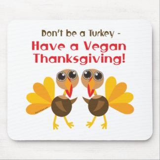 Vegan Thanksgiving Mouse Pad