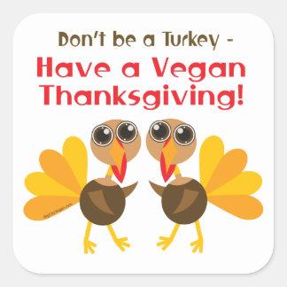 Vegan Thanksgiving Stickers