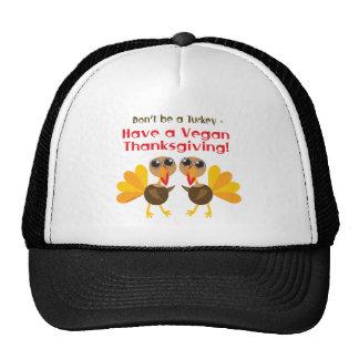 Vegan Thanksgiving Trucker Hat