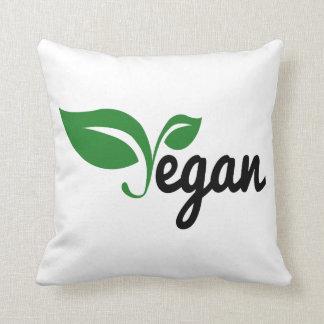 Vegan Throw Pillow