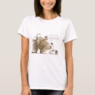 Vegan - Tolstoy quote T-Shirt