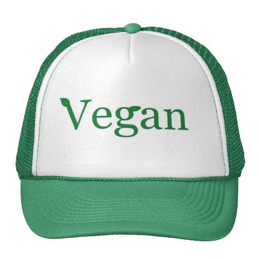 vegan trucker hat