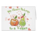 Vegan Valentines Day Cards