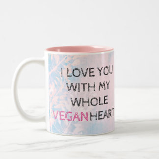 VEGAN VALENTINE'S DAY Colorful Mug