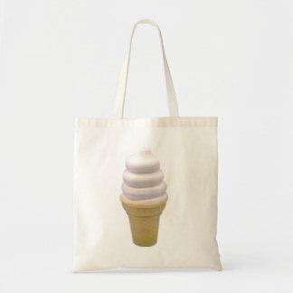 vegan vanilla cone tote bag