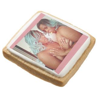 Vegan Vegannography Cookies Square Premium Shortbread Cookie
