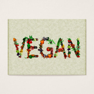 Vegan Vegetables Business Card