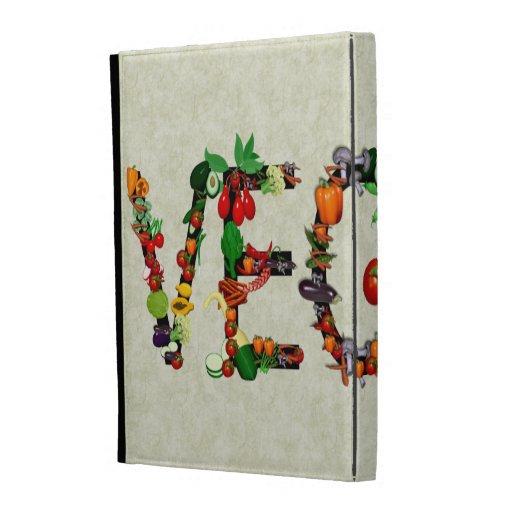Vegan Vegetables iPad Folio Cases