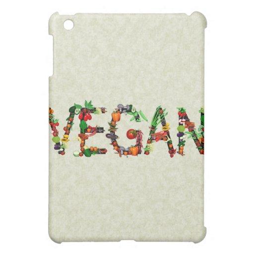 Vegan Vegetables Case For The iPad Mini