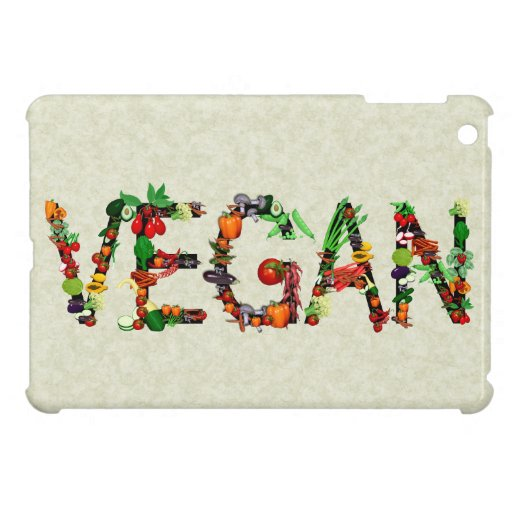 Vegan Vegetables Cover For The iPad Mini