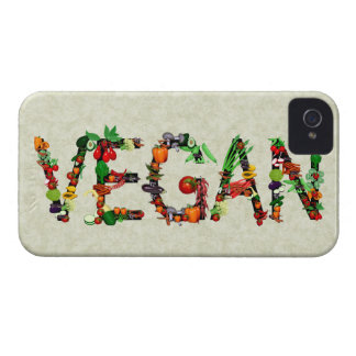 Vegan Vegetables iPhone 4 Case-Mate Case