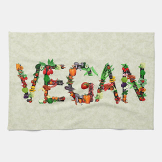 Vegan Vegetables Towels