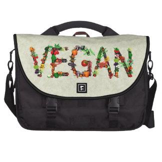 Vegan Vegetables Laptop Commuter Bag