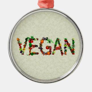 Vegan Vegetables Christmas Ornaments