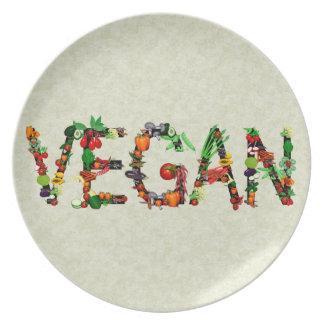 Vegan Vegetables Plate