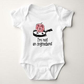 Vegan/Vegetarian Baby Baby Bodysuit