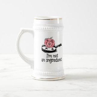 Vegan/Vegetarian Beer Stein Coffee Mug