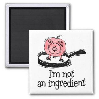 Vegan/Vegetarian Magnet