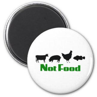 Vegan / Vegetarian Not Food Magnet