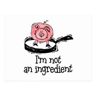 Vegan/Vegetarian Postcards