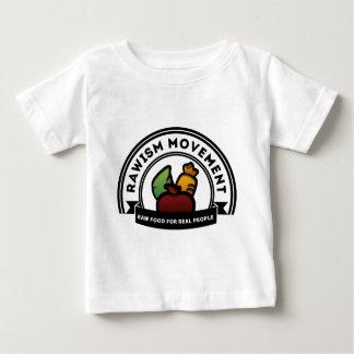 Vegan Vegetarian Raw Movement Baby T-Shirt