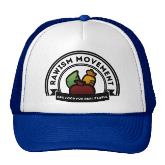 Vegan Vegetarian Raw Movement Trucker Hat