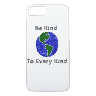 Vegan/Vegetarian - save The Animals shirt iPhone 8/7 Case