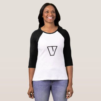 """Vegan Vegetarian  Shirt """"V"""" the Veggie Monster"""