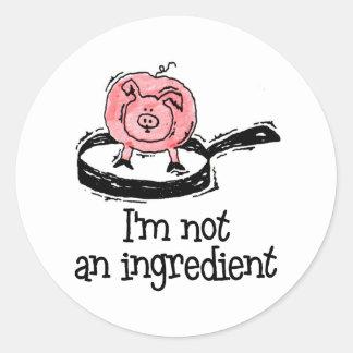 Vegan/Vegetarian Stickers