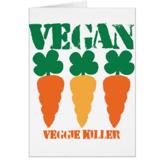 Vegan Veggie killer Card