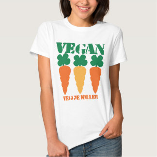 Vegan Veggie killer Tee Shirt