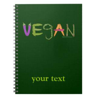 Vegan Veggies Vegetable Lovers Notebook