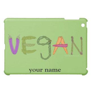 Vegan Veggies Vegetable Lovers Personalized ipad iPad Mini Case