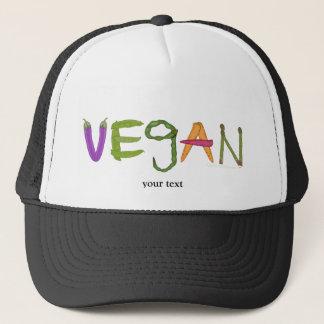 Vegan Veggies Vegetable Lovers Trucker Hat
