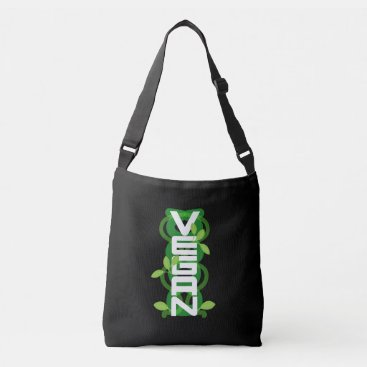 font themed Vegan Vertical Tote Bag White Font