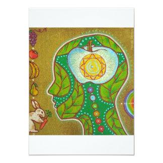 vegan will chakra card
