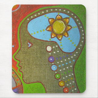 Vegan will chakras mouse pad