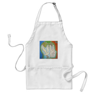 Vegan wings adult apron
