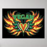 Vegan Wings Poster
