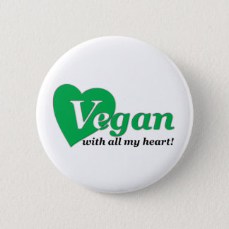 Vegan with all my heart button