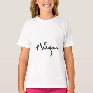 # Vegan with Green Leaf Cool T-Shirt