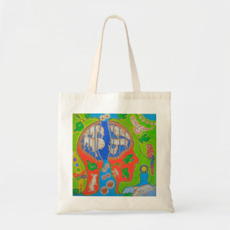 Vegan without cage tote bag
