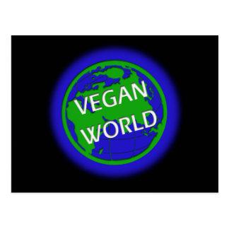 Vegan World Postcard