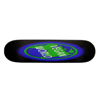 Vegan World Skate Deck