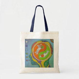 Vegan Yin Yang Tote Bag
